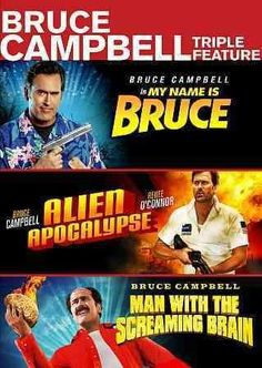 Bruce Campbell Triple Feature
