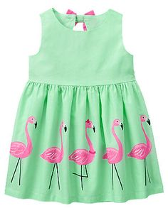 My granddaughter wore this dress to her cousin's first birthday party. So cute!