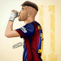 Barcelona Futbol - by fans for fans Football Wallpaper Iphone, Soccer Drawing, Neymar Jr Wallpapers, Neymar Barcelona, Fifa 15, Messi Soccer, Real Madrid Football, Football Pictures, Cute Cartoon Wallpapers