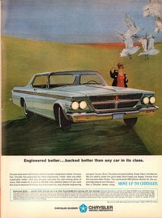 1964 Chrysler 300 Advertisement Life Magazine March 13 1964 | Flickr - Photo Sharing!