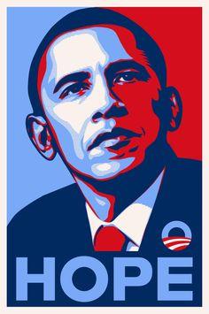 Obama Hope Poster Iron On T Shirt Transfer Or Sticker #ebay #Home & Garden