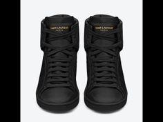 Tendencias accesorios primavera verano 2013 zapatillas y mochilas: Saint Laurent