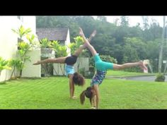 IB GymDance - How to do a Backbend, Kickover and Back Walkover