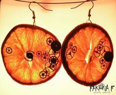 A Clockwork Orange earrings  literary fashion vol. IV   Medallion Media