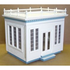 Real Good Toys Displays Front-Opening Jr. Conservatory Dollhouse