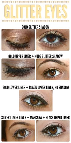 Gimme Some Glitter! How To Wear Metal Toned Glitter On Your Eyes