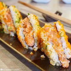 . Sushi Sandwich ISAO Sukumvit 31 11.00-14.30 17.30-22.00 300.- Cr: @biggertummy ---------------------------------------------- Share your favorite dishes with us! Just add the hashtag #bonappetitbkk  by bon_appetitbkk