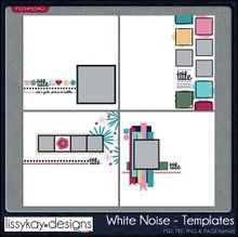 White Noise by LissyKay Designs FWP offer
