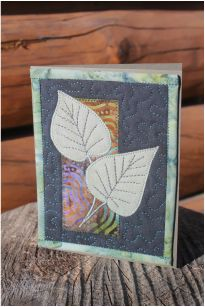 -quilted card by beret nelson . beret -quilted card by beret nelson . Fabric Cards, Fabric Postcards, Paper Cards, Small Quilts, Mini Quilts, Sewing Cards, Small Sewing Projects, Miniature Quilts, Textiles