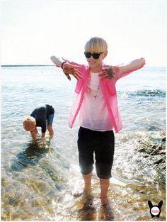 SHINee - Taemin & Key umma and son <3