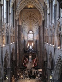 Westminster Abbey from the Triforium London, England Westminster Abbey, Gothic Architecture, Cathedrals, London England, Great Britain, Places To See, Concept Art, Amber, Backgrounds