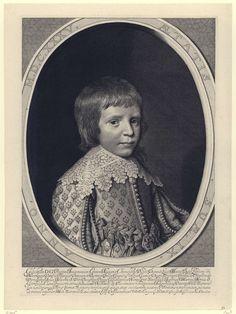 Portret van Willem II, prins van Oranje-Nassau op negenjarige leeftijd, Willem Jacobsz. Delff, Staten-Generaal, 1635