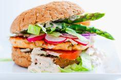 Mad på 4 sal: Fiskeburger