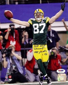 Jordy Nelson Autographed Green Bay Packers 8x10 Photo #2 SB XLV Champs, 140 Yds & 1 TD PSA/DNA . $59.00. This is an 8x10 Photo that has been hand signed by Jordy Nelson. The autograph has been certified authentic by PSA/DNA and comes with their sticker and matching certificate.