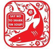 Say no to shark fin soup! Love this paper cutting art.