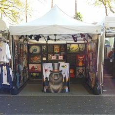 """We're ready for the Tempe Festival! Find us right outside The Shoe Mill on Mill Avenue."""