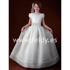 Communion dress Cemaros 2012-13 N371