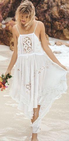 #summer #spellandthegypsycollective #outfits | Maxi White Dress