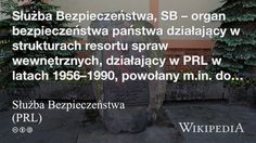 """""""Służba Bezpieczeństwa (PRL)"""" på @Wikipedia:"""