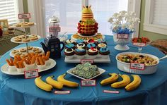 Nerd love! Hello, I'm the Doctor: Doctor Who Themed Party Food