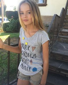 Picture of Kristina Pimenova Beautiful Little Girls, Beautiful Children, Cute Girls, Preteen Girls Fashion, Young Girl Fashion, Little Girl Models, Child Models, Blonde Kids, Mädchen In Bikinis