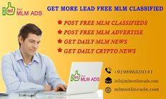 MLM Online Ads is a best MLM classified website in india. We provide all mlm classified website, And MLM news, MLM new Company name. Network Marketing Tips, Marketing Software, Media Marketing, What Is Mlm, Cryptocurrency News, Multi Level Marketing, Success, Competitor Analysis, India