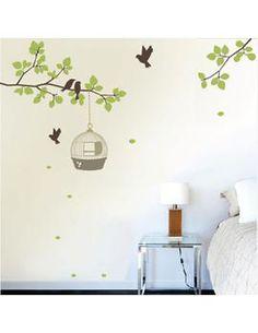 Adesivo/pintura parede