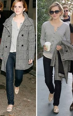 Picture Of emma watson casual outfits 5 Emma Watson Casual, Emma Watson Outfits, Emma Watson Estilo, Winter Outfits, Casual Outfits, Emma Style, Estilo Fashion, Up Girl, Preppy Style