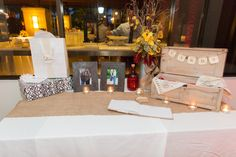 Cards and gifts table. #PGAweddings Brian + Aileen Photo By Thompson Photography Group