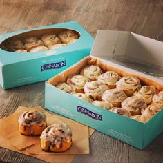 What sounds better than a warm cinnamon roll from @Cinnabon on a cold Autumn morning?