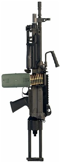 M249SAW Para - 5.56x45mm NATO | Guns for show | Pinterest | Guns, Weapons and Light Machine Gun