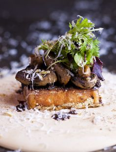 Pot Luck Club, next to The Test Kitchen at The Biscuit Mill - Mushrooms on toast, grated lemon, parmesan porcini dust South African Recipes, Ethnic Recipes, Mushroom Toast, Seasonal Food, Best Dishes, Soul Food, Pot Luck, Food Inspiration, Vegetarian Recipes