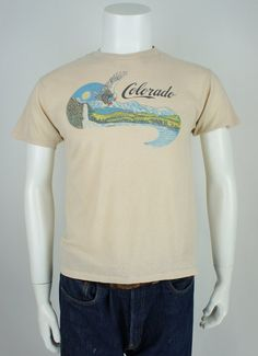 Vintage 1980's Classic Colorado Printed by foundationvintage