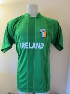 e2a448085 IRELAND SOCCER JERSEY SIZE LARGE   XLARGE (ONE SIZE) by DRAKO INC.  19.95.  BEST QUALITY AND PRICE. GREA DESIGN AND COLOR. 100% POLYESTHER. GREAT GIFT.