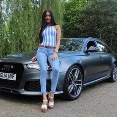 Audi RS daytona grey