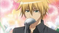 Anime Screencap and Image For Maid Sama Hot Anime Guys, Anime Love, Manga Boy, Manga Anime, Hector Gonzalez, Best Romantic Comedy Anime, Usui Takumi, Maid Sama Manga, Zero Kiryu