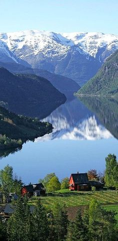 Ulvik, Norway. #amazingview ☮k☮ #Norge What an amazing view. Honestly, I could be quite happy living right there...