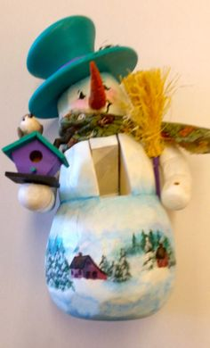 Hand carved hand painted wooden nutcracker. He by DianeTrierweiler, $34.99