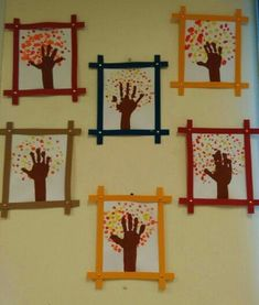 48 Awesome Fall Crafts for Kids – Crafts Ideas Kids Crafts, Fall Crafts For Toddlers, Easy Fall Crafts, Daycare Crafts, Thanksgiving Crafts, Holiday Crafts, Diy And Crafts, Thanksgiving Feast, Fall Leaves Crafts