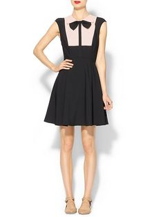 de22a2e7e4aebc Ted Baker London Nitcha Bow Collar Dress SUUUUPER then add a few pieces of  the right jewelry