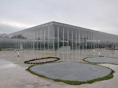 Louvre Lens (France), Louvre's new museum space in the Pas-de-Calais, northern France. Architects: Kazuyo Sejima + Ryue Nishizawa / SANAA