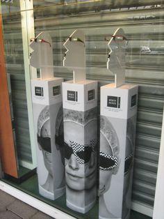 """ALAIN MIKLI, France,""""Vintage Display Plinths"""", pinned by Ton van der Veer"""