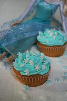 cupcakes reine des neige