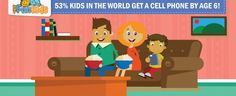 You Might be Shocked to Know that Over of Kids Have a Cell Phone by Age Find out why and what to do to prevent the mobile addiction! Family Games, Games For Kids, Family Guy, Cell Phone Addiction, Hickory Dickory Dock, Game 7, The Cell, Working With Children, Kids Education