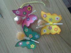 Farfalline porta lecca lecca