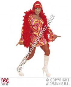 Disfraz de Drag Queen Años 70 para Adultos #DisfracesDivertidos #Despedidas http://casadeldisfraz.com/