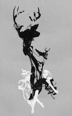 Last time I was a Deer Art Print