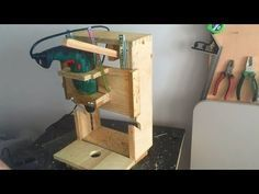 Homemade Drill Press - Lathe - Disc sander, 3 in 1 - El yapımı torna, Zımpara Makinesi, Matkap Pres - YouTube