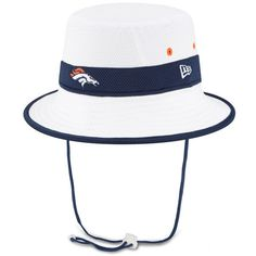 Denver Broncos New Era On Field Training Camp Bucket Hat - White