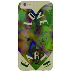 Play In Paint LOVE EARTH iPhone 6 Plus Case